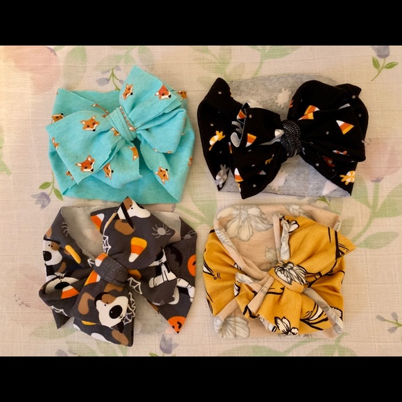 Other - Fall themed headwrap bows! 🍁🍂💛🧡